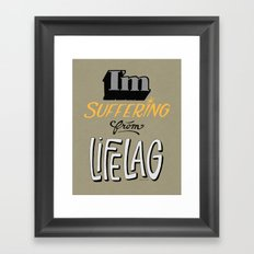 lifelag Framed Art Print