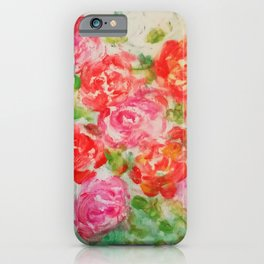 Forever Roses iPhone Case