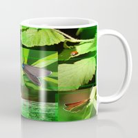 insects Mugs featuring Forest Insects  by Andrew Sliwinski