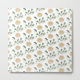 Ginkgo Floral Metal Print