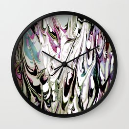 Abstract Painting Too Bizarre Wall Clock