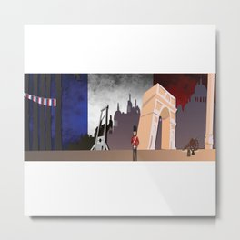 The French Revolution Metal Print