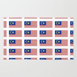 Flag of Malaysia-malay,malaysian,Kuala Lumpur,Malacca,malasia. Rug