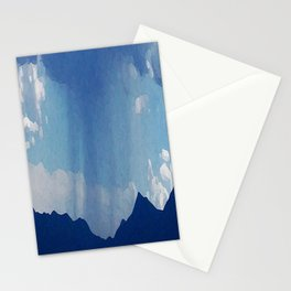 Mountain Storm Stationery Cards