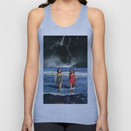 Storm's grasping fingers Unisex Tank Top