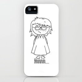 Sad Harper iPhone Case