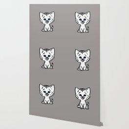 Chalkies cat color 2 Wallpaper