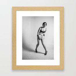 Dick Framed Art Print