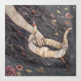 Titania's Crown - A Midsummer Night's Dream Canvas Print