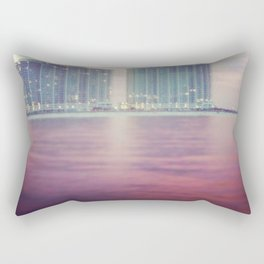 Hotels on the water Rectangular Pillow