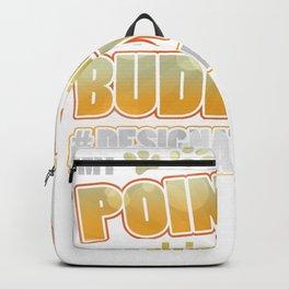 Pointer Drinking Buddy Hashtag Designated Doggo Backpack