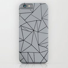 Ab Dotted Lines B on Grey Slim Case iPhone 6s