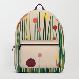 Colorful meadow Backpack