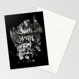Innovation with tradition Stationery Cards
