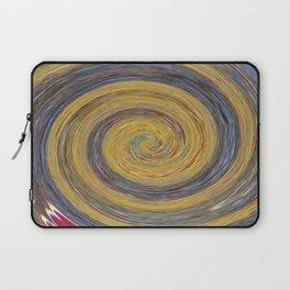 Swirl 02 - Colors of Rust / RostArt Laptop Sleeve
