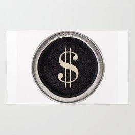 Vintage Dollar Sign Rug