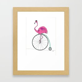 Just out for a ride. Framed Art Print
