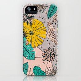 Olga loves flowers iPhone Case