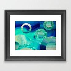 SEA-NCHRONICITY Framed Art Print