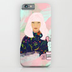 Pink Hair Don't Care I iPhone 6s Slim Case