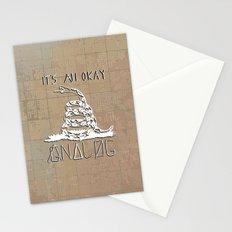 Gnalog (Analog Zine) Stationery Cards