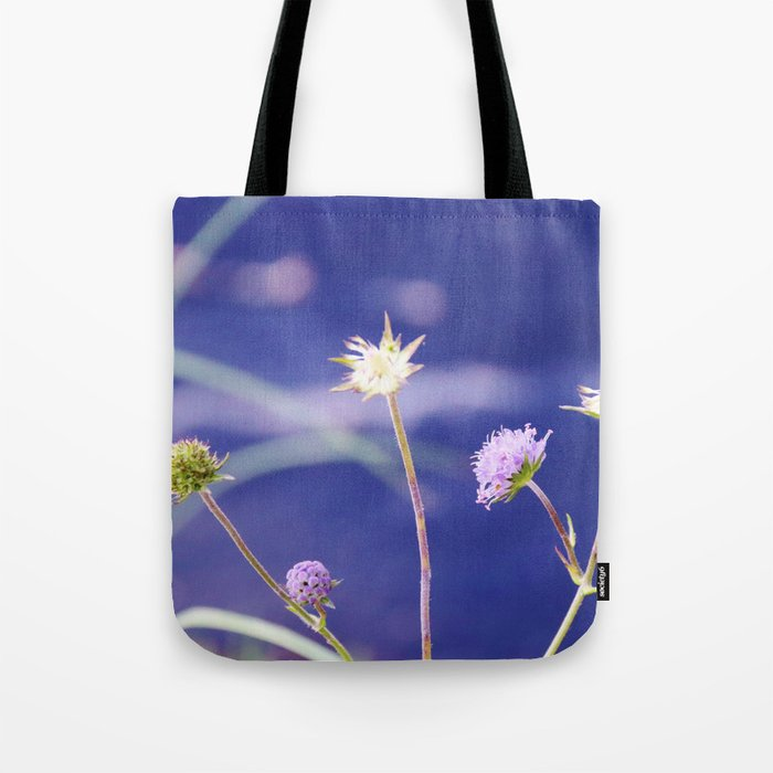Field Scabious Knautia Arvensis Tote Bag