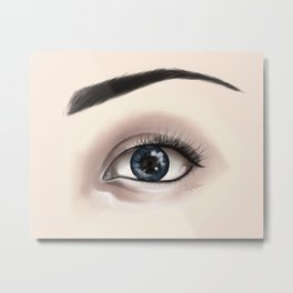 Eye Art Metal Print