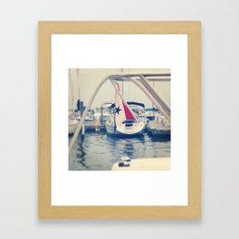 High Sails Framed Art Print