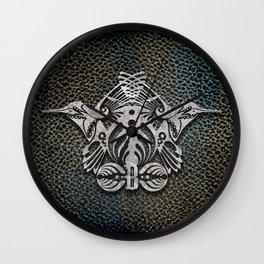 Bassnectar Family Crest (Metal) Wall Clock