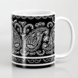 Classic Black Bandana Coffee Mug