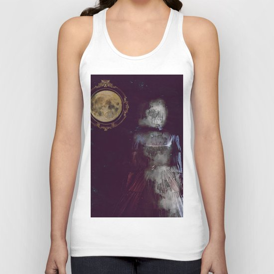 The ghost of miss Parker Unisex Tank Top