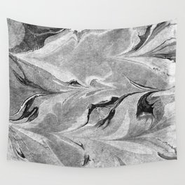 Marble Black & White Wall Tapestry