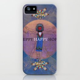 Hippi Happy Hopi iPhone Case