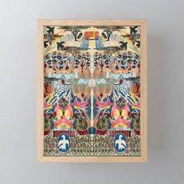 Kenya Collage Framed Mini Art Print