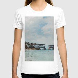 Florida Keys Bridge | Fine Art Travel Photography T-shirt