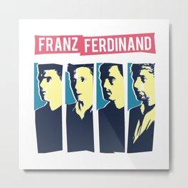 Franz Ferdinand Metal Print