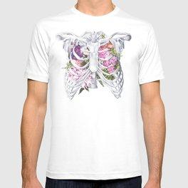 Floral Ribcage T-shirt