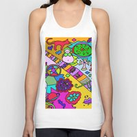 bible verses Tank Tops featuring Science Verses Religion by Linda Tomei