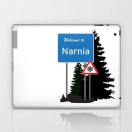 Narnia traffic Laptop & iPad Skin