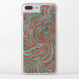 The Space In Between N-O-A and the Trace Gases Clear iPhone Case