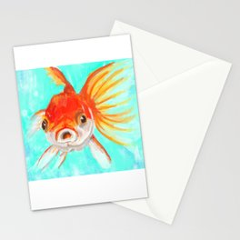 A Goldfish Kind of Day Stationery Cards