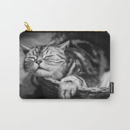 sleepy cat Carry-All Pouch