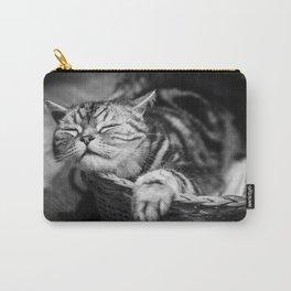 sleepy cat Carry-All Pouch