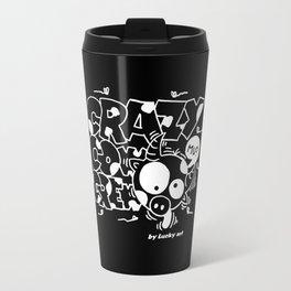 Crazyblack Travel Mug
