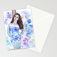 Spring fashion 3 Stationery Cards