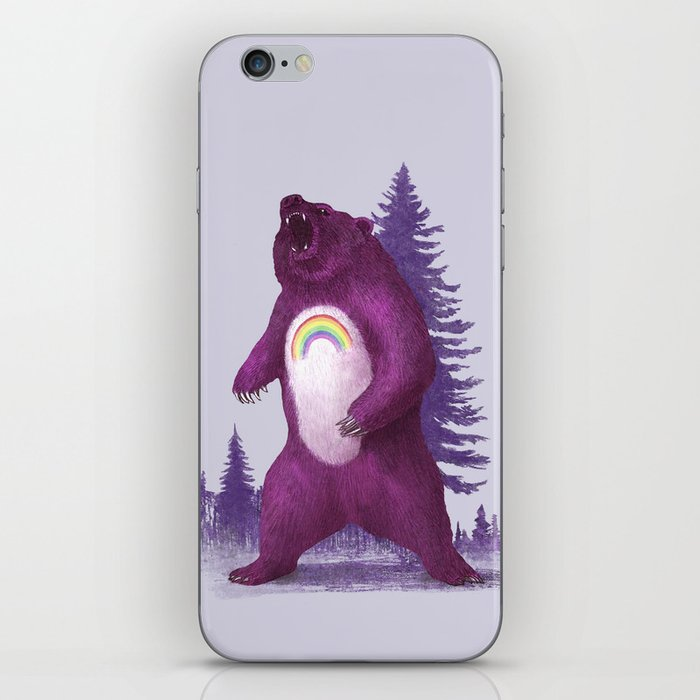 Scare Bear iPhone Skin