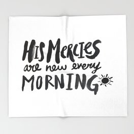 Mercy Morning Throw Blanket