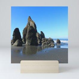 Sea Stacks Of Ruby Beach Mini Art Print