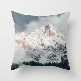 Dolomites-Italy Throw Pillow