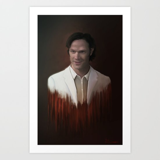 Sam Lucifer Art Print